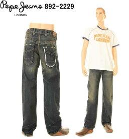 Pepe Jeans ペペジーンズ 892-2229 London CRUNCH クランチ ジーンズ ホワイト刺繍