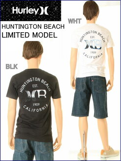 HURLEY HUNTINGTON BEACH MAINHurley MEN'S HUNTINGTON BEACH T-SHIRT REGULAR FIT T襯衫(2COLOR:白黑色)MTS0007000