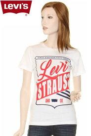 Levi's ladies T-SHIRTS 117500 Levi STRAUS ロゴ グラフィックTシャツ リーバイス Tシャツ レディースtシャツ【levis リーバイス レディース 半袖tシャツ ショートスリーブ 半袖 tシャツ リーバイスロゴtシャツ 新品】