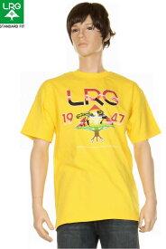 LRG エルアールジー STANDARD FIT T-SHIRTS イエロー Tシャツ LRG メンズ スケーター ストリート メンズ lrg tシャツ【LRG lrg エルアールジー Tシャツ イエロー LRG メンズ カジュアルtシャツ メンズトップス ブランド 新品】