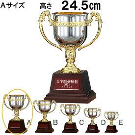 優勝カップ FB-125A 高さ24.5cm【文字代無料】【送料無料】樹脂製 トロフィー 卒団 卒業 記念品 ゴルフ サッカー 野球 FA-125A