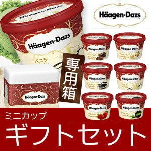 母の日 ギフト アイスクリーム ハーゲンダッツ アイスクリーム ギフト ミニカップ(110ml) おすすめ12個セット お礼 お返し 内祝い 出産祝い お祝