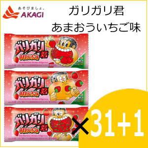 赤城乳業 ガリガリ君 あまおういちご味 110ml×31+1本入り ss10