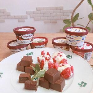 父の日 ギフト ハーゲンダッツ・花いちご・チョコレートのギフトセット アイス お礼 お返し 内祝い 出産祝い お祝