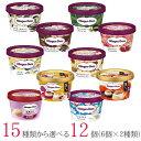 ハーゲンダッツ アイスクリーム ミニカップ 13種類から2種類選べる福袋12個(6個×2種類)セット