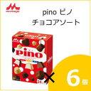 森永乳業 ピノチョコアソート(10ml×24)×6個入り ss10