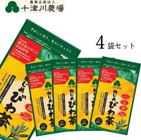 ねじめ びわ茶24(2gティーバッグ 24包入)×4袋 十津川農場
