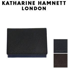 正規取扱店 KATHARINE HAMNETT LONDON (キャサリンハムネット ロンドン) 490-57301 Wave 名刺入れ 全3色