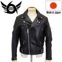 正規取扱店 666 LJM-4 U.K.HARDCORE RIDERS JACKET (U.K. ハードコア ライダースジャケット) 日本製 BLACK