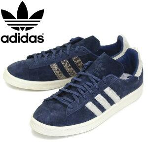 正規取扱店 adidas (アディダス) GY0406 CAMPUS 80S キャンパス 80S スニーカー カレッジネイビーxフットウェアホワイトxブルー AD090