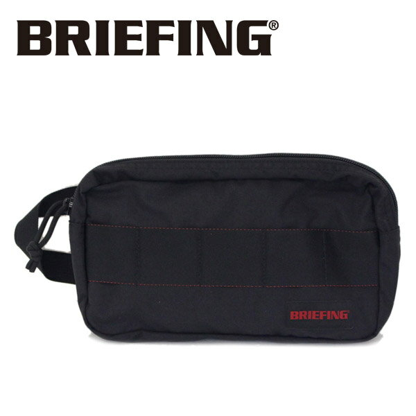 正規取扱店 BRIEFING (ブリーフィング) BRM181611 ONE ZIP POUCH MW ワンジップポーチ BLACK BR397