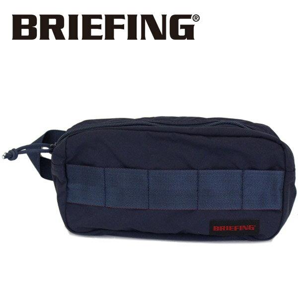 正規取扱店 BRIEFING (ブリーフィング) BRM181611 ONE ZIP POUCH MW ワンジップポーチ NAVY BR398