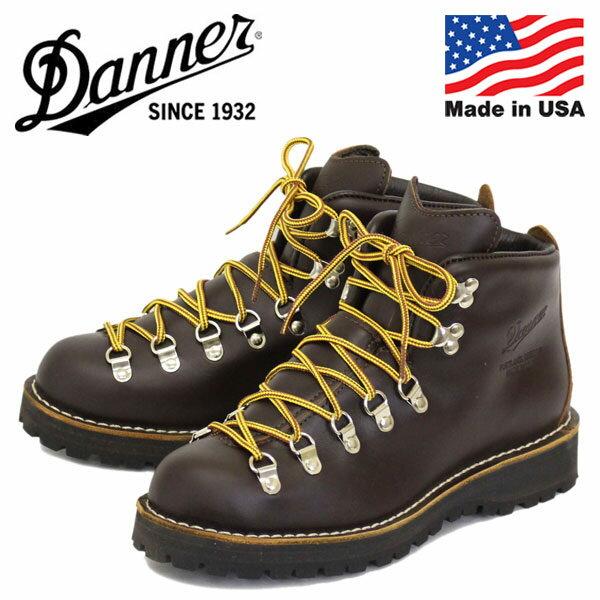 正規取扱店 DANNER (ダナー) 30866 MOUNTAIN LIGHT (マウンテンライト) アウトドアブーツ アメリカ製 BROWN