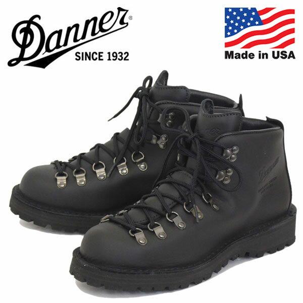 正規取扱店 DANNER (ダナー) 31530 MOUNTAIN LIGHT (マウンテンライト) アウトドアブーツ アメリカ製 BLACK
