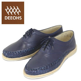 sale セール 正規取扱店 DEEOHS (ディオス) ML-1003 BRAVO (ブラボー) レースアップ ローカット メンズ レザーシューズ navy (ネイビー) DE006