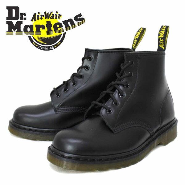 正規取扱店 Dr.Martens ドクターマーチン 101 6EYE BOOT 6ホールブーツ BLACK ブラック