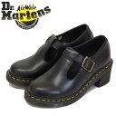 正規取扱店 Dr.Martens (ドクターマーチン) 25657001 WMS SOPHIA T-BAR ソフィア バックル レディース レザーブーツ B…
