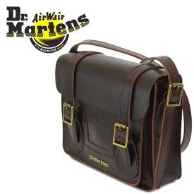 正規取扱店 Dr.Martens (ドクターマーチン) AB097230 11インチ Leather Satchel Bag レザーサッチェルバッグ CHARRO BRANDO