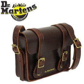 正規取扱店 Dr.Martens (ドクターマーチン) AB098230 7インチ Leather Satchel Bag レザーサッチェルバッグ CHARRO BRANDO