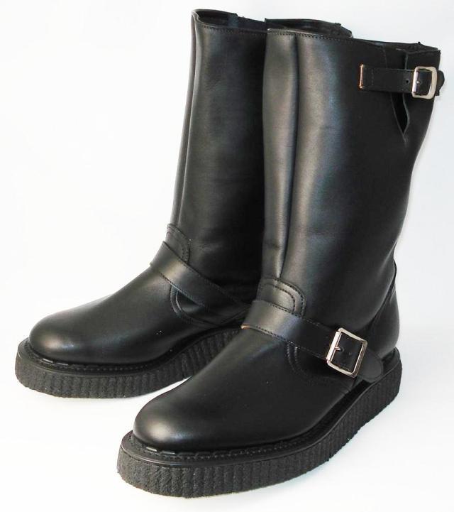 正規取扱店 George Coxジョージコックス No,5 Creeper Sole Engineer Boots クリーパーソールエンジニアブーツ 666ダブルネーム