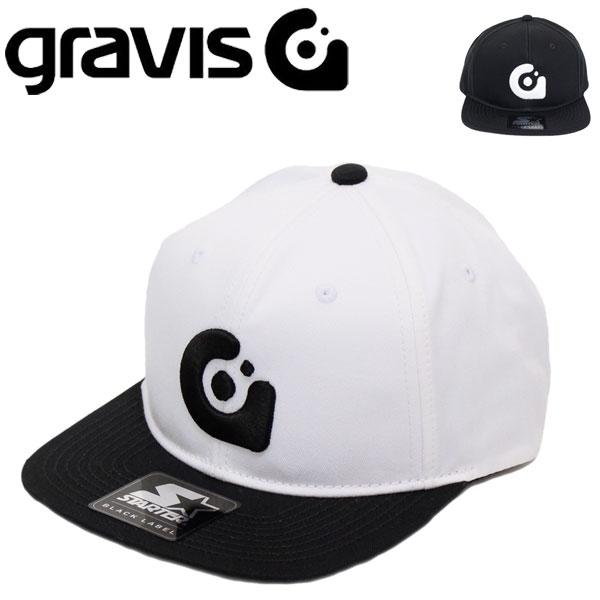 正規取扱店 gravis (グラビス) Gravis x Starter Snapback Cap グラビスxスターター スナップバックキャップ GRV006 全2色