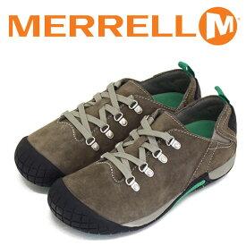 正規取扱店 MERRELL (メレル) J55974 ウィメンズ PATHWAY LACE パスウェイ レース スエードレザーシューズ MERRELL STONE MRL019