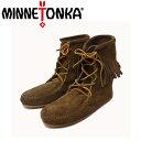 sale セール 正規取扱店 MINNETONKA(ミネトンカ) Tramper Ankle Boots(トランパーアンクルハイブーツ)#428 DUSTY BROW…