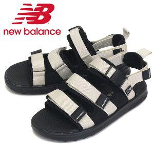 正規取扱店 new balance (ニューバランス) SDL750 BM サンダル BLACK/MOON NB720