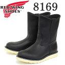 正規取扱店 Red Wing(レッドウィング レッドウイング) 8169 9インチ PECOS BOOTS(ペコスブーツ) ブラック