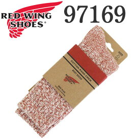 正規取扱店 RED WING (レッドウィング) 97169 Cotton Ragg Socks コットンラグソックス 靴下 ラスト(レッド)