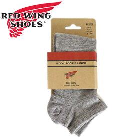正規取扱店 RED WING(レッドウィング) 97336 Wool Footie Short Socks (ウールフッティーショートソックス) 靴下 GRAY グレー