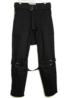 正規的經銷商SEDITIONARIES by 666(sedishonarizu)Bondage Trousers(bondejjitorauzazu,bontejipantsu)黑黑色