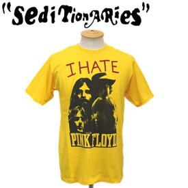 正規取扱店 SEDITIONARIES by 666 (セディショナリーズ) I HATE PINK FLOYD Tシャツ イエロー STO081