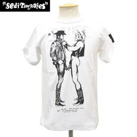 正規取扱店 SEDITIONARIES by 666 (セディショナリーズ) Cow Boys(カウボーイズ) Tシャツ WHITE ホワイト STZ0003