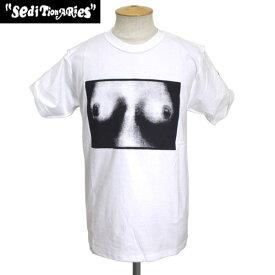 正規取扱店 SEDITIONARIES by 666 (セディショナリーズ) TITS Tシャツ ホワイト STZ0004