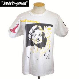正規取扱店 SEDITIONARIES by 666 (セディショナリーズ) PISS MARILYN (ピスマリリン) Tシャツ ホワイト STZ0011
