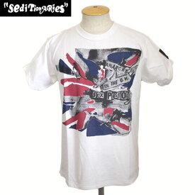 正規取扱店 SEDITIONARIES by 666 (セディショナリーズ) ANARCHY FLAG (アナーキーフラッグ) Tシャツ ホワイト STZ0013