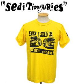 正規取扱店 SEDITIONARIES by 666 (セディショナリーズ) PRETTY VACANT (プリティヴェイカント) Tシャツ イエロー STZ018