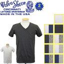正規取扱店 Velva Sheen (ベルバシーン) 160922 2PAC V/N PK TEE (半袖 V首 ) VネックTシャツ ポケット有り 2枚組 全10パターン VLVS004
