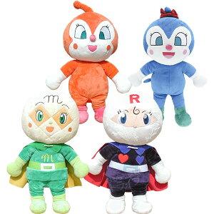 それいけ!アンパンマン ぬいぐるみ 抱き人形 4体組 Bセット ドキンちゃん コキンちゃん メロンパンナちゃん ロールパンナ