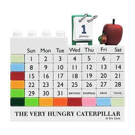 はらぺこあおむし ブロックカレンダー(万年カレンダー)