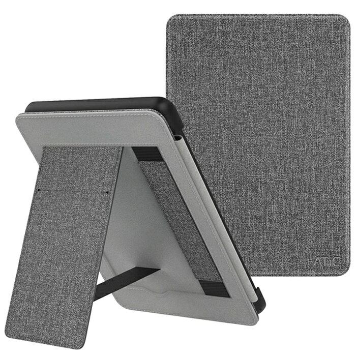 ATiC Amazon Kindle Paperwhite 2018 ケース Kindle Paperwhite (Newモデル) 2018 第10世代用カバー ケース アマゾン キンドル ペーパーホワイト カバー オートスリープ機能付き スタンド ハンドストラップ付き 保護カバー スタンドケース アマゾン2018 タブレットケース