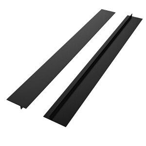 隙間テープ すきまテープ 2本セット  - Nuovoware 大人気 ドア下部シールテープ 冷気 シリコン ストーブカウンタギャップカバー 53cmx12.7mmx55mm シリコン隙間カバーシンク周り 防水すきまテー
