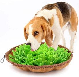 犬 訓練毛布 ペット 鼻づまり 餌マット ノーズワークマット 犬用 おもちゃ Pawaboo 犬用早食い防止 マット 訓練毛布 折りたたむ ゆっくり食べる 嗅覚訓練 遊び 餌マット 知育マット 注意力トレーニング 肥満/分離不安/食いちぎる対策 大中小型犬