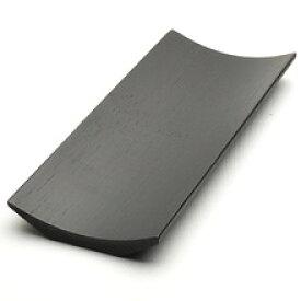 竹茶巾托(黒)長185×短75×高13mm