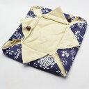 壺袋(紺印寿花)