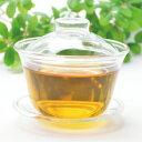 中国茶器・蓋碗120ml・耐熱ガラス製