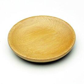 円形竹茶托
