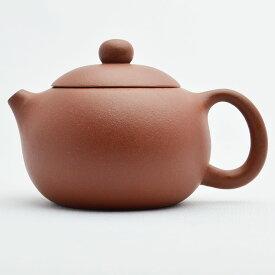 宜興紫砂壺・西施壺 武松(赤茶)130ml
