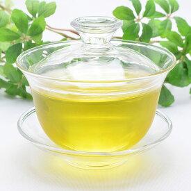 中国茶器・蓋碗160ml(満水270ml)・耐熱ガラス製